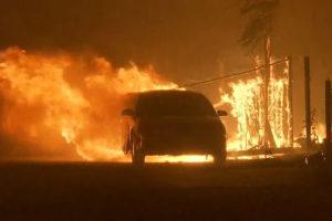 उपमेयरको गाडीमा आगजनी