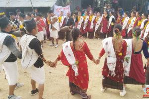 धनकुटाको सौरे बजारमा हुर्रा महोत्सव