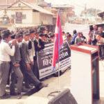 पाख्रीवासका बिद्यार्थी सडकमा : सिमा मिचेको बिरोधमा गुञ्जियो 'गो व्याक इण्डिया' को नारा