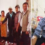 धनकुटेली पत्रकारद्वारा मृगौलापीडित पत्रकार प्रधानको उपचारमा सहयोग