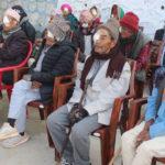 चौबिसेमा तीन दिने आँखा शिविर : दुई जिल्लाका चार सय बिरामी लाभान्वित
