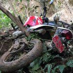 धनकुटाको दमारमा मोटरसाईकल दुर्घटना