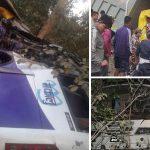 धरान आउँदै गरेको बस कोहलपुरमा दुर्घटना, पाँच जनाको मृत्यु, ३७ घाइते