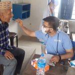 झापामा नोबेलको तीन दिने स्वास्थ्य शिविर, तीन हजार बिरामीको निःशुल्क उपचार