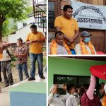 महालक्ष्मीको दमारमा आधारभूत स्वास्थ्य केन्द्र भवन उद्घाटन