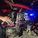 धनकुटामा मोटरसाइकल दुर्घटना