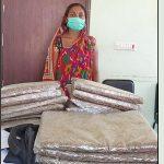 विराटनगरबाट १७ किलो गाँजासहित महिला पक्राउ