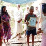 धनकुटाको महालक्ष्मी नगरको नयाँ अभियान: मलामीलाई खाजा खुवाउँन पैसा प्रदान